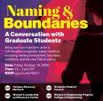 Naming&Boundaries