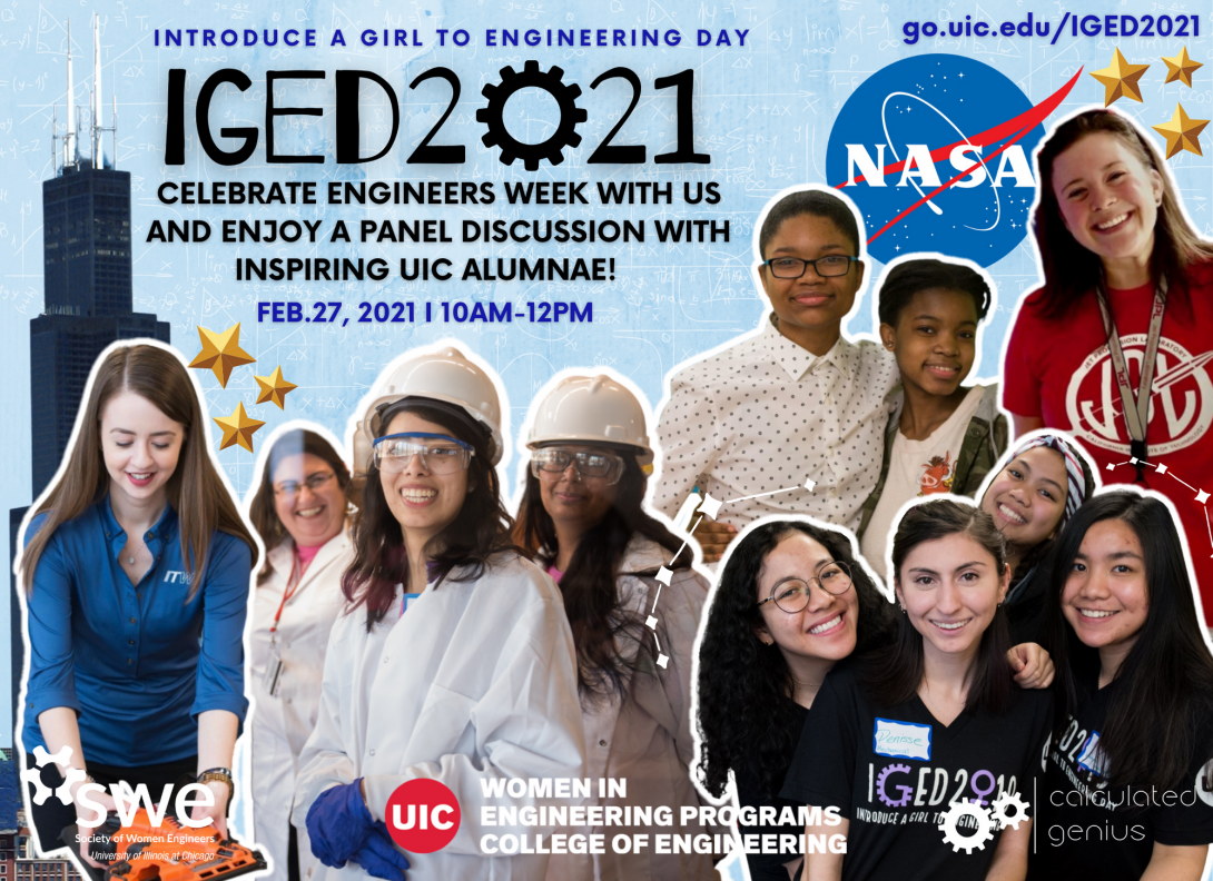Uic Academic Calendar 2021 UIC Introduce a Girl to Engineering Day 2021 Virtual Event | Women